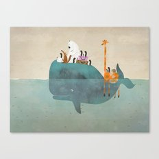 summer holiday Canvas Print