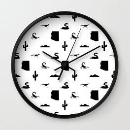 AZ Desert Repeating Wall Clock