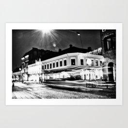 Lund In Motion 1 Art Print
