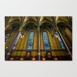 Cathedral Of The Madeleine - Utah Canvas Print