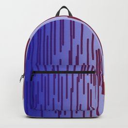 design lines blue with pink Backpack