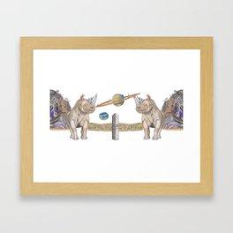 CoR Schroomy Coffee Mug Framed Art Print