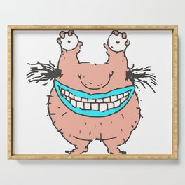 Ahh Real Monsters Crumb Serving Tray