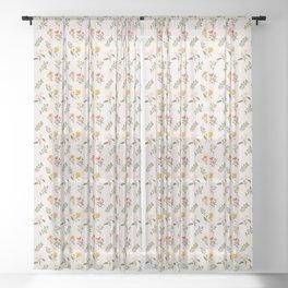 Botanical Dreams Sheer Curtain
