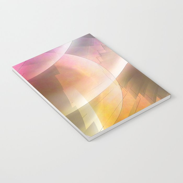 Multicolored abstract no. 60 Notebook