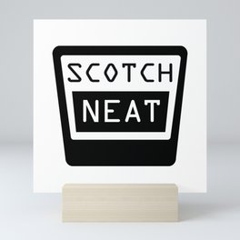 SCOTCH, NEAT Mini Art Print