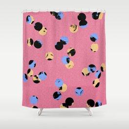 dot dot Shower Curtain
