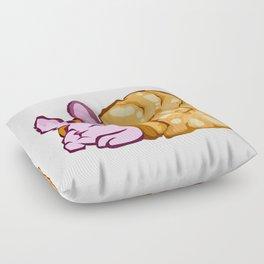 Rabbit snail Floor Pillow