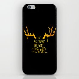 the nightmare iPhone Skin