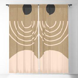 Minimal Geometric 37 Blackout Curtain