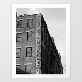 Rubber Company Art Print
