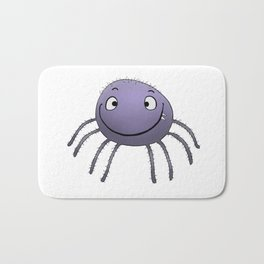 Spider Smile Bath Mat