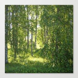 Beautiful Morning Summer Greenery #decor #society6 #buyart Canvas Print
