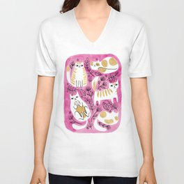Fat Cats Unisex V-Neck
