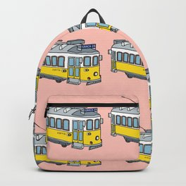 Lisbon Tram Pattern Backpack