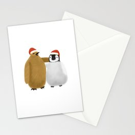 Festive Penguin Pals Stationery Cards