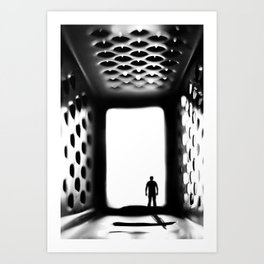 "Into the ""Grate"" unknown Art Print"