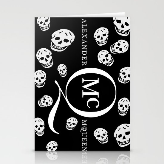 God Save ALEXANDER McQueen Stationery Cards