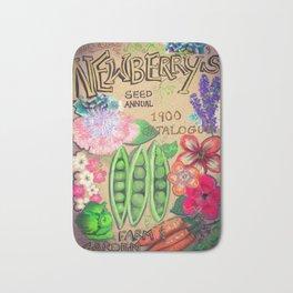Newberry's Seed Catalogue Bath Mat