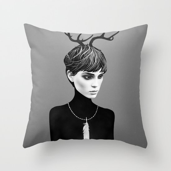 The Cold Throw Pillow