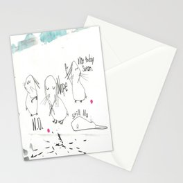 Not feeling it... Stationery Cards
