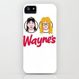 Wayne's Double iPhone Case