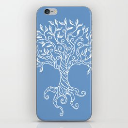 Tree of Life Blue iPhone Skin