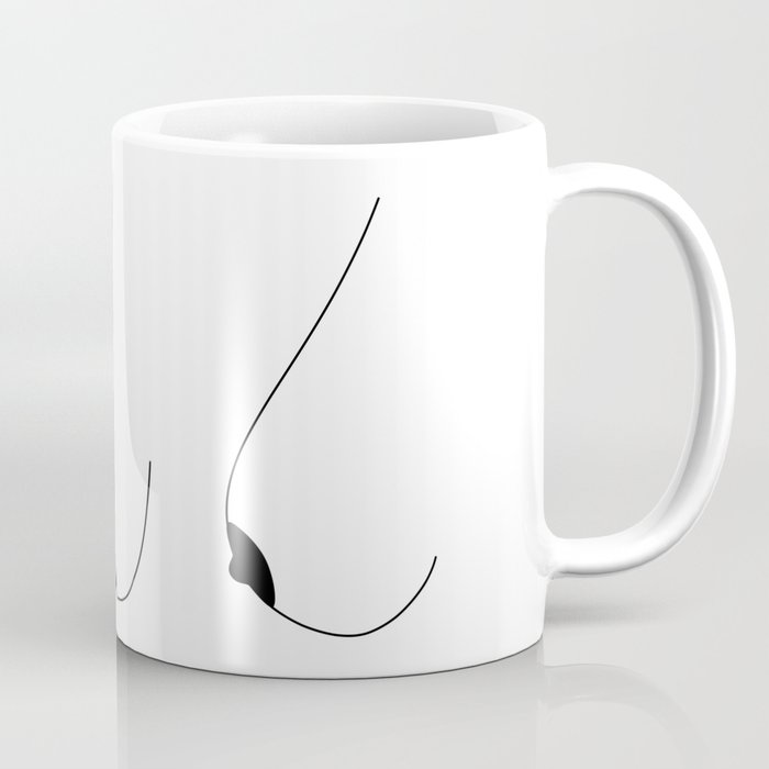 Side Boobs Coffee Mug
