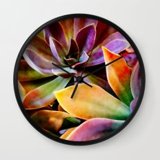 Spectacular Succulents Wall Clock