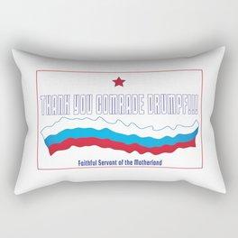 Thank You Comrade Drumpf Rectangular Pillow