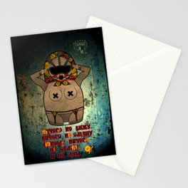 Speak/See/Hear/XXX No Evil Matryoshka (Russian) Stationery Cards
