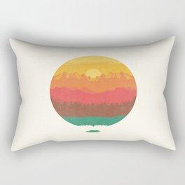 Layers Of Nature Rectangular Pillow