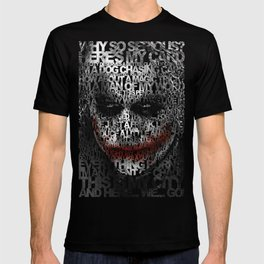 Halloween Psycopath Clown Typograph apple iPhone 4 4s 5 5s 5c, ipod, ipad, pillow case and tshirt T-shirt