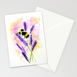 Buzzing Bumblebee Stationery Cards