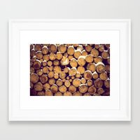 pocket fuel Framed Art Prints featuring fuel by Омаха