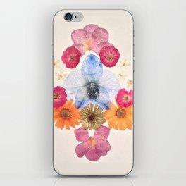 Floral Inkblot | Samah iPhone Skin