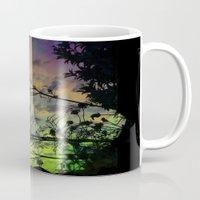 prism Mugs featuring Prism Sun by Ben Geiger
