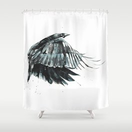 Bauble Thief Shower Curtain