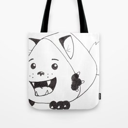 Fear Me!  For I am both cute and creepy! Tote Bag