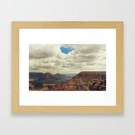 I Heart The Grand Canyon Framed Art Print