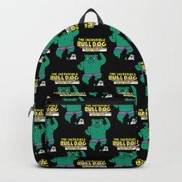 The Incredible English Bulldog Backpack