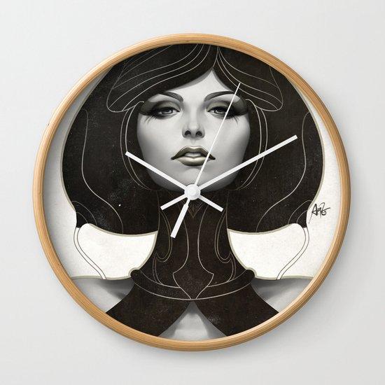Pepper Spade Wall Clock