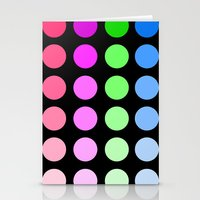 gradient Stationery Cards featuring Gradient by SnakeBees