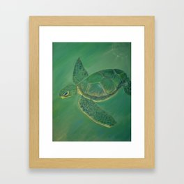 Ancient Wise One Framed Art Print
