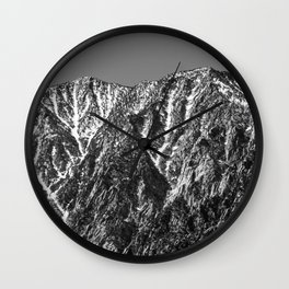 Runoff Wall Clock