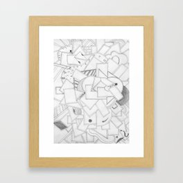 Changing Direction Framed Art Print