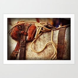 Ropes and Harness Art Print