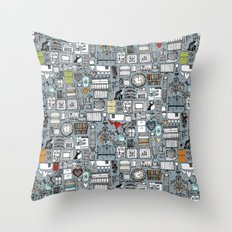 love and stuff Throw Pillow