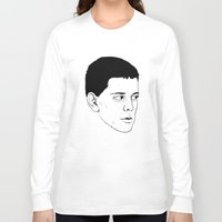lou reed Long Sleeve T-shirts featuring LOU REED by Mitch Meseke