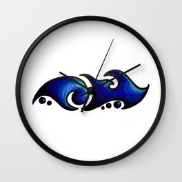 Jamie /  جيامي  (blue) Wall Clock
